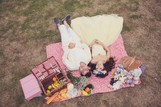 野餐風婚紗照-婚攝Jetaime