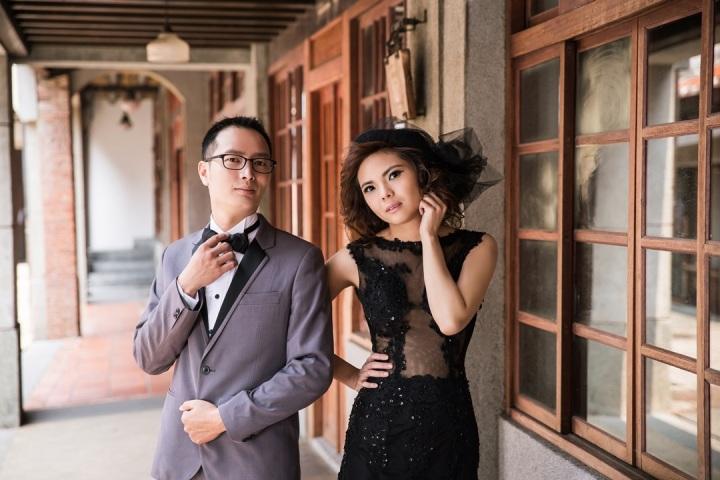 復古婚紗照-台北婚攝Jetaime