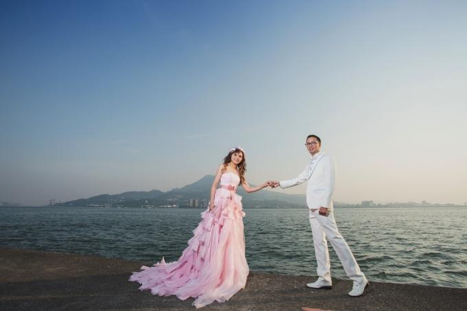 河岸婚紗照-台北婚攝Jetaime