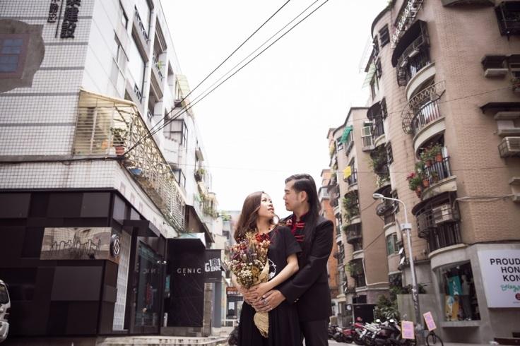 個性街頭婚紗-台北婚攝Jetaime