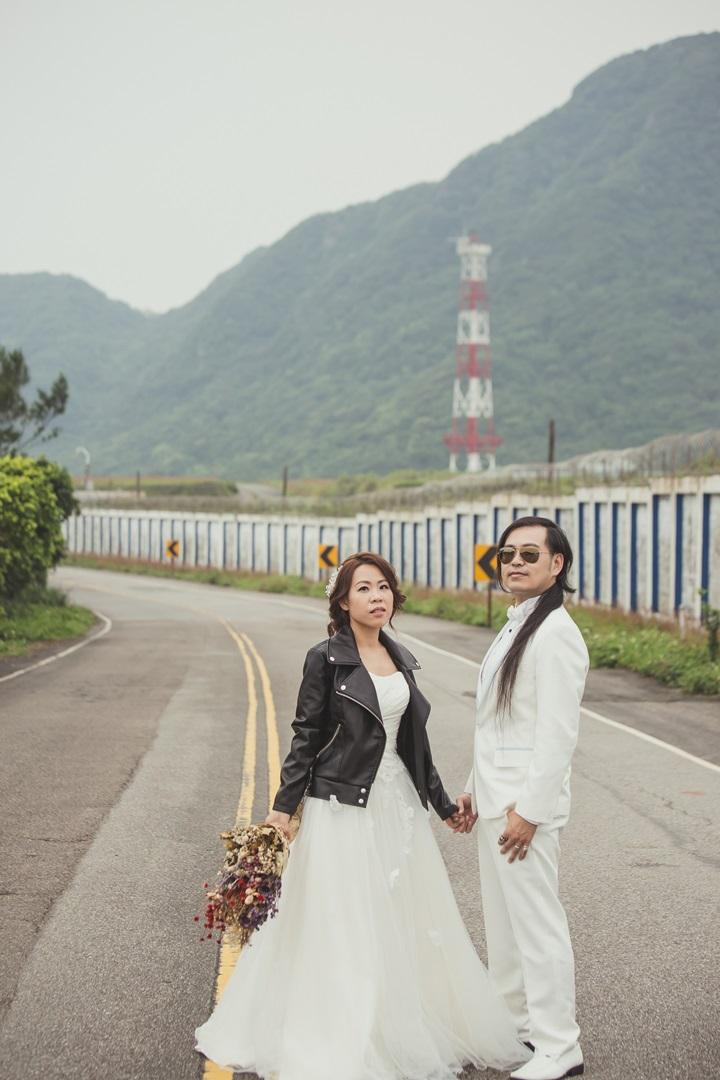 公路婚紗照-台北婚攝Jetaime
