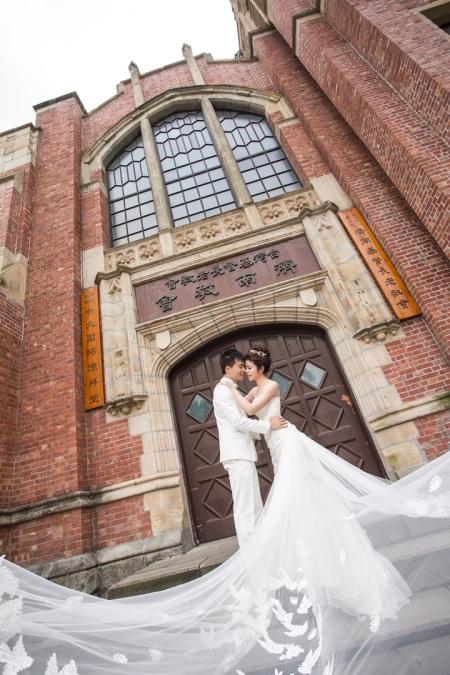 歐式建築婚紗照-台北婚攝Jetaime