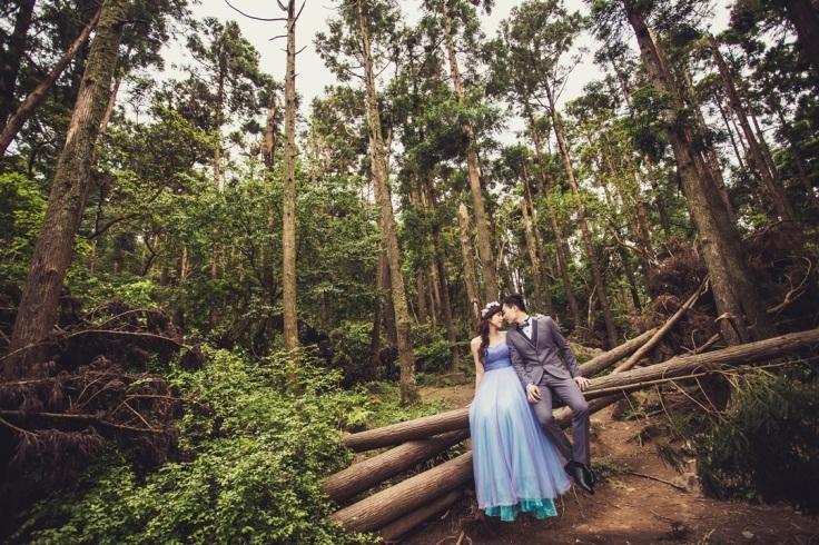 大自然婚紗照-台北婚攝Jetaime