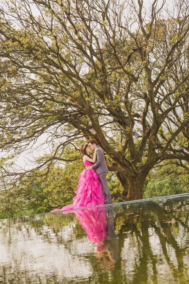湖畔婚紗照-台北婚攝Jetaime