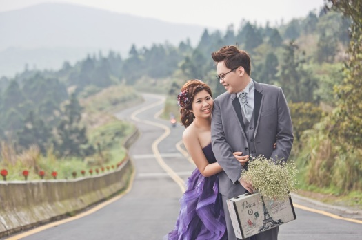 公路婚紗攝影-台北婚攝Jetaime