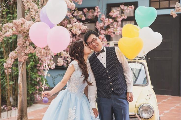 漫花小品婚紗照-台北婚攝Jetaime