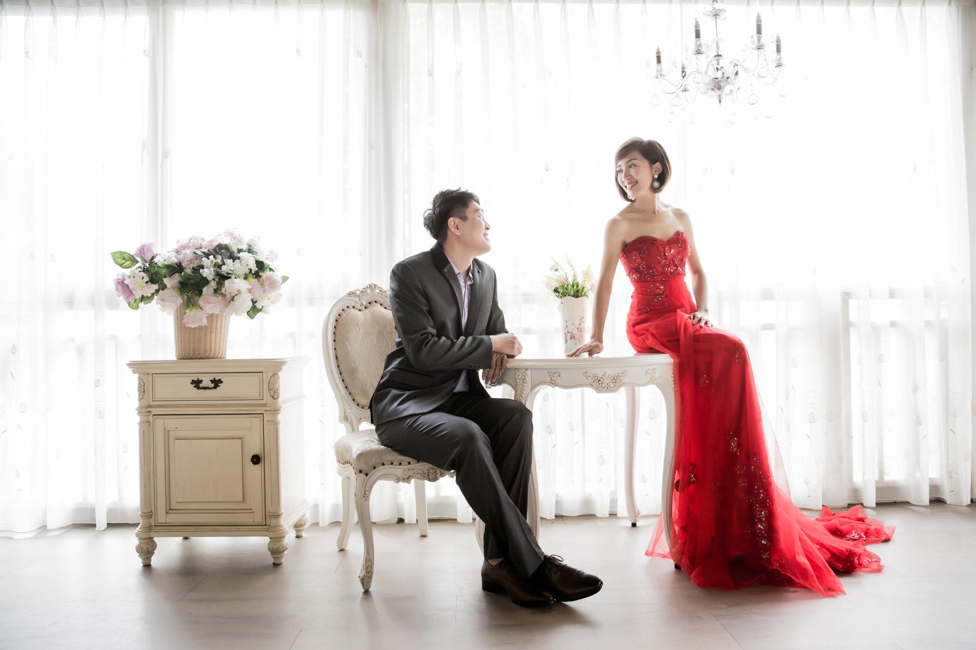 婚紗攝影與逆光婚紗照