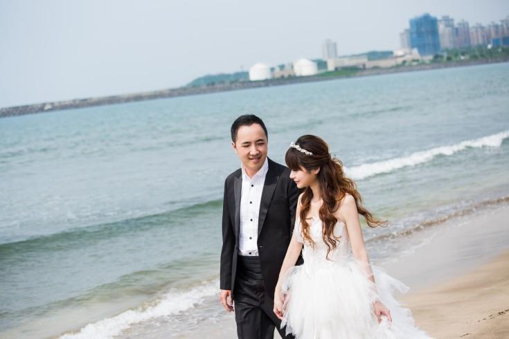 海灘婚紗照|婚紗攝影|自助婚紗推薦-台北婚紗Jetaime